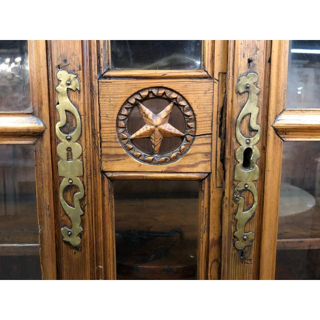 19th Century French Buffet Deux Corps For Sale - Image 4 of 9