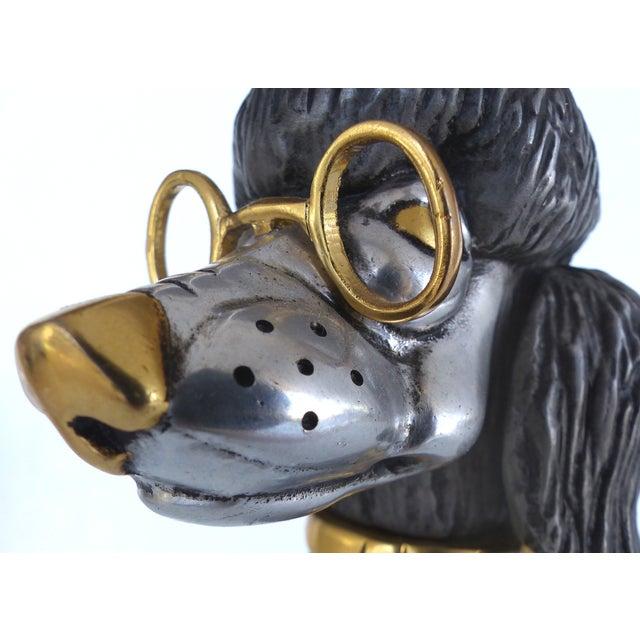 Articulated Poodle Sculpture - Image 8 of 11