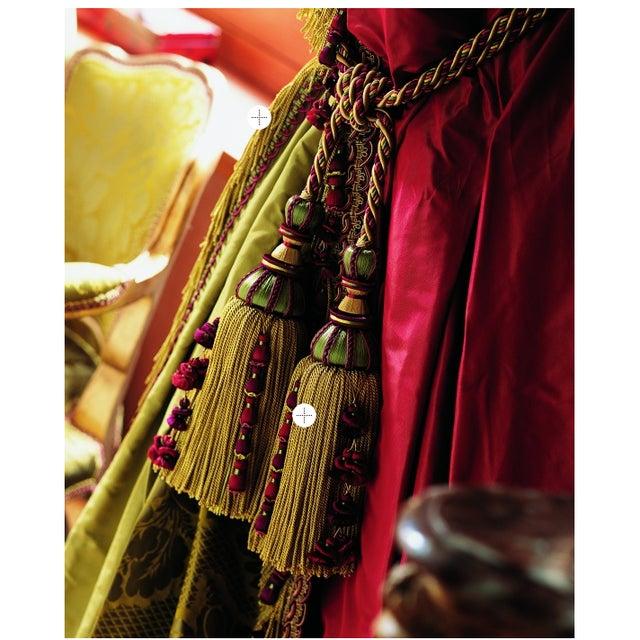 Traditional Houlès Paris Antica Tassels Tieback For Sale - Image 3 of 12