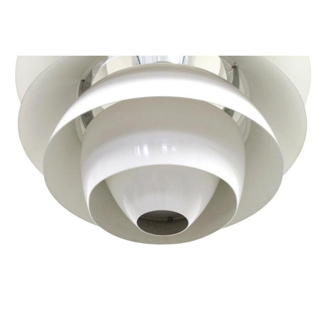 Poul Henningsen Snowball Pendant For Sale In Boston - Image 6 of 13