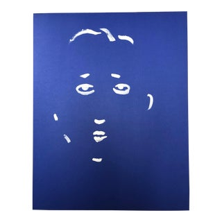 Minimalist Portrait Painting For Sale