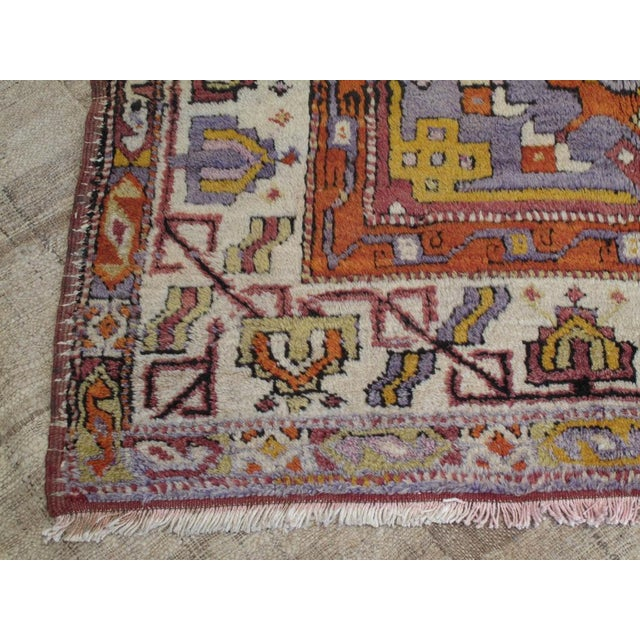 Traditional Yuntdag Carpet For Sale - Image 3 of 9