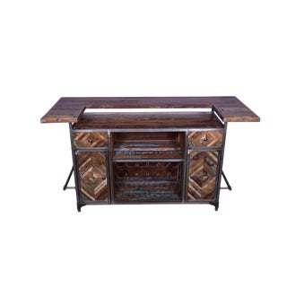 Rustic Javier Home Bar Counter For Sale