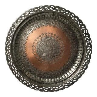Vintage Indian Serving Platter