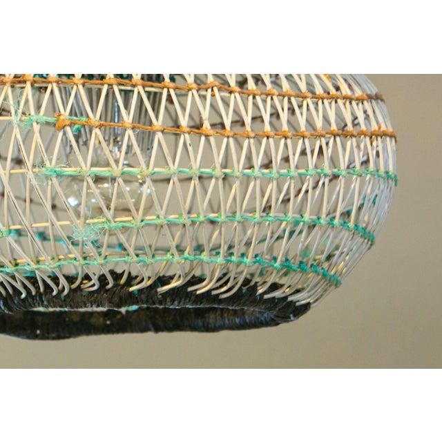 Six unique coastal pendants from Portuguese lobster traps. These pendants are created from lobster traps. Perfect for a...