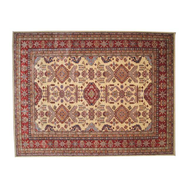 """Hand-Woven Wool Kazak Rug - 8' X 10'3"""" - Image 1 of 4"""