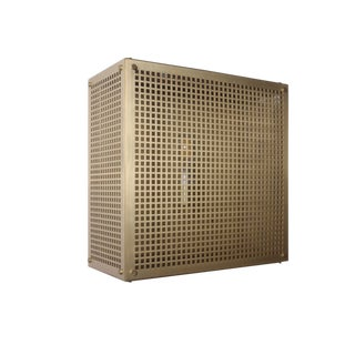 Modern Contemporary 001 Flush Mount in Brass by Orphan Work For Sale