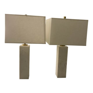 Jonathan Adler Tall Canaan Table Lamps - A Pair For Sale