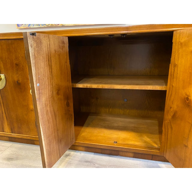 Midcentury Credenza Signed by Lane Furniture For Sale - Image 10 of 12