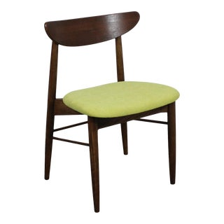 Single Mid-Century Modern H Paul Browning Shell Back Dining Chair For Sale