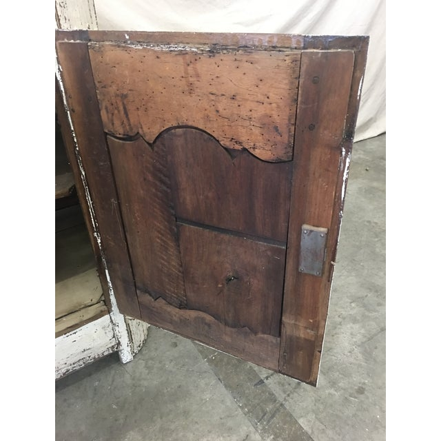 18th C French Provencal Three Door Painted Enfilade Sideboard For Sale In Austin - Image 6 of 13