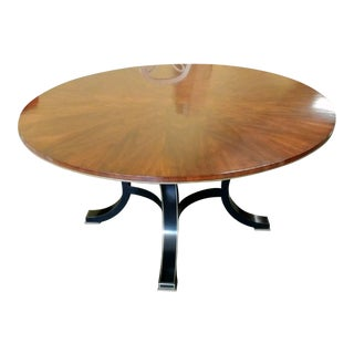 Hollywood Regency Henredon Furniture Acquistions Paris Yvon Round Dining Tablee For Sale
