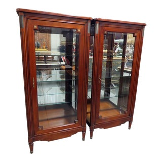 Jansen Style Display Cabinets - a Pair For Sale