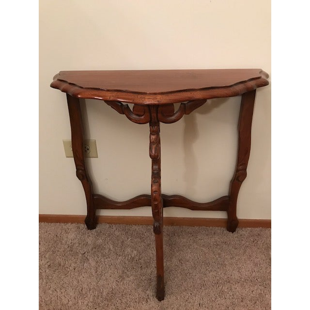 Demilune Side Table For Sale - Image 4 of 4
