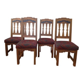 Contemporary Southwest Designed Chairs - Set of 8