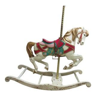 Vintage Carousel Rocking Horse