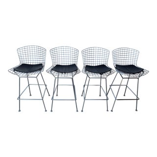 Harry Bertoia for Knoll Bar Stools - Set of 4 For Sale
