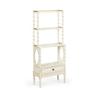 Bamboo Bookcase in Cream Preview