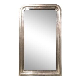Silver Louis Phillipe Mirror