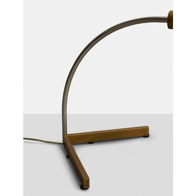 Cedric Hartman Cedric Hartman arced table lamp For Sale - Image 4 of 5