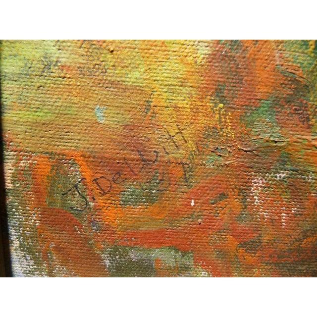 Vintage Impressionist Landscape For Sale - Image 4 of 4