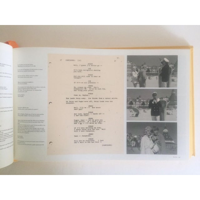 """Taschen """" Billy Wilder's Some Like It Hot """" Rare 1st Edtn Monumental Oversized Boxed Set Collector Book For Sale - Image 4 of 11"""