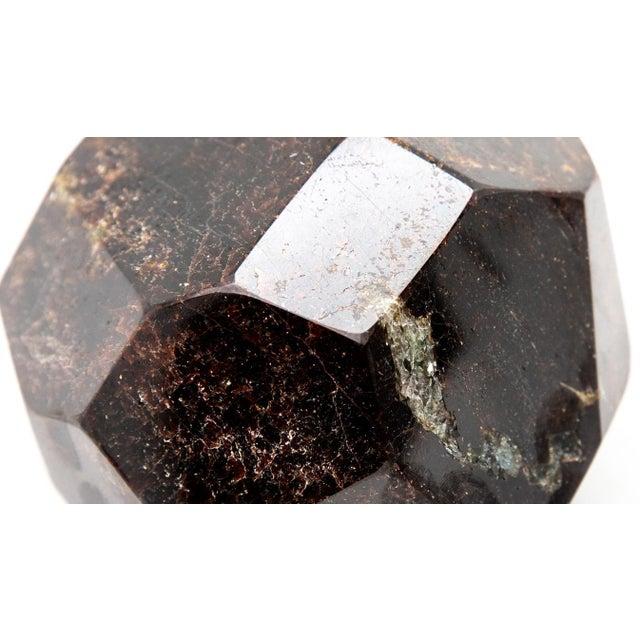 Faceted Garnet Specimen For Sale - Image 4 of 7