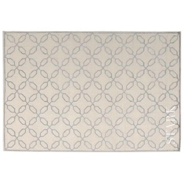 "Stark Studio Rugs Contemporary Linen Soumak Rug - 6'2"" X 8'10"" For Sale"