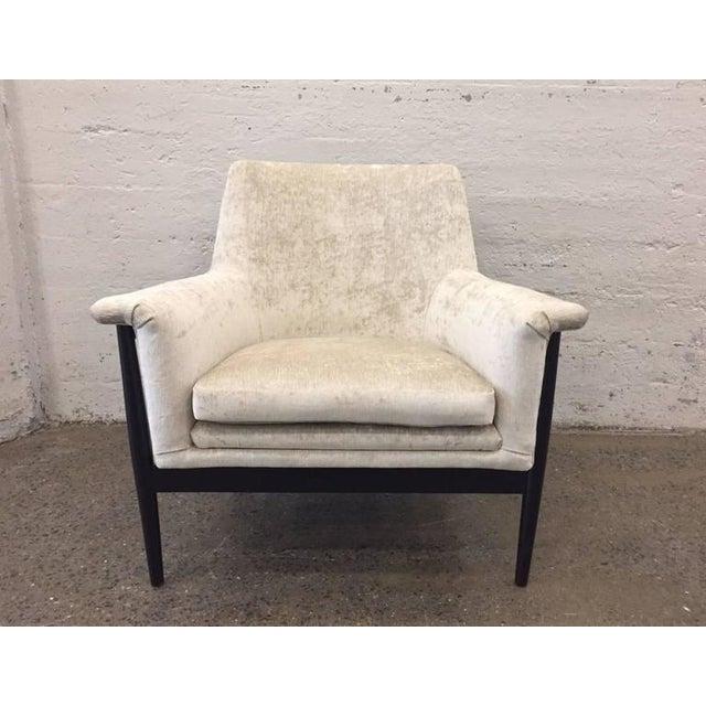Pair of Danish Modern Lounge Chairs Ib Kofod Larsen - Image 2 of 7