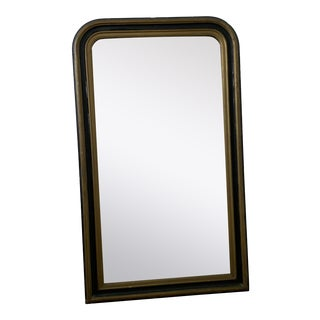 Louis Philippe Rustic Antiqued Mirror For Sale