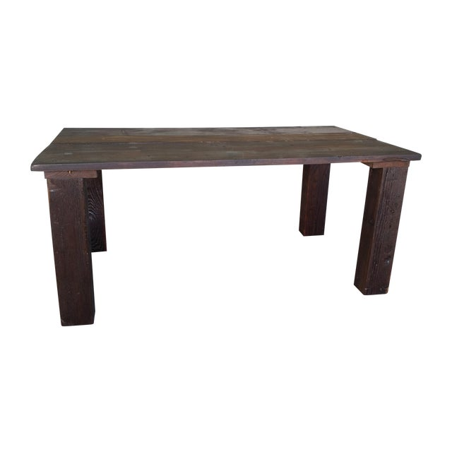 Reclaimed Wood Coffee Table - Image 1 of 4