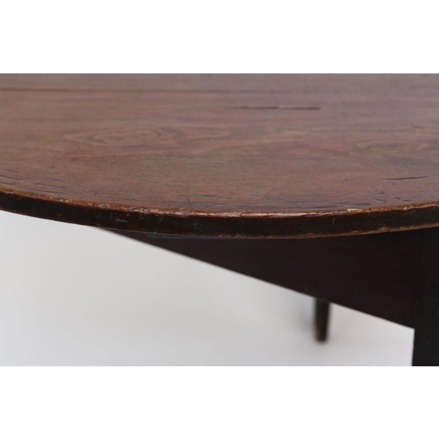 Early 19th Century Large Pine Cricket Table For Sale - Image 5 of 13