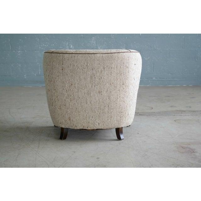 Viggo Boesen Attributed Danish Modern Lounge Chair 1940s - Image 11 of 11