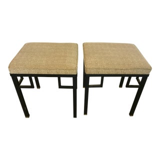 Regency Style Stools - a Pair For Sale