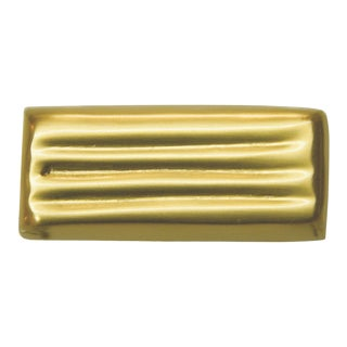 Lines Knob - Satin Brass For Sale