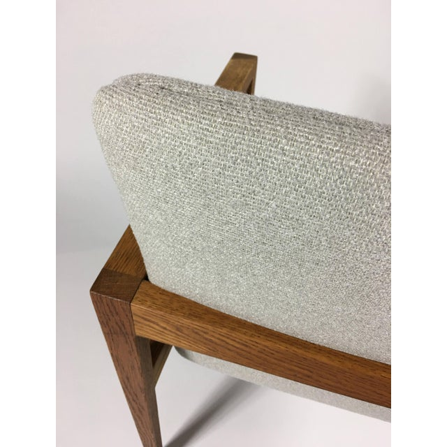 1950s 1950s Mid-Century Modern Jens Risom Accent Chair With Arms For Sale - Image 5 of 8