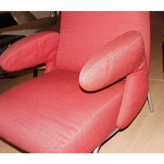 """Carboni for Arflex """"Dolphin"""" Lounge Chair For Sale - Image 5 of 6"""