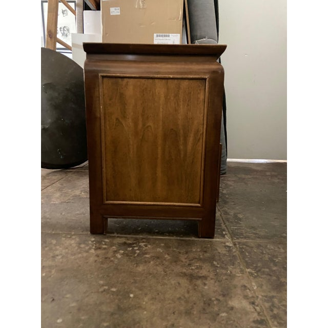 Mid-Century Modern Century Furniture Chin Hua Chinoiserie Two Drawer Nightstand For Sale - Image 3 of 9