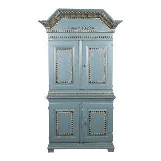 Swedish Antique Cabinet Anno 1812