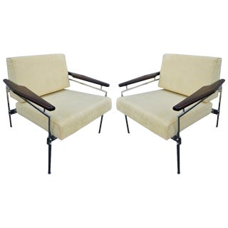 1960s Sergio Rodrigues Brazilian Jacaranda Beto Chairs - a Pair For Sale