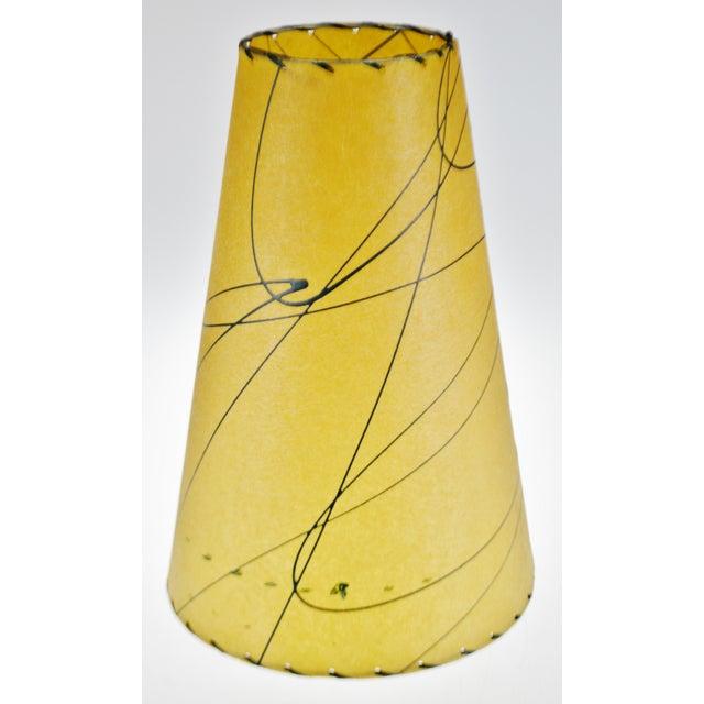 Mid Century Fiberglass Atomic Style Lamp Shade For Sale In Philadelphia - Image 6 of 13