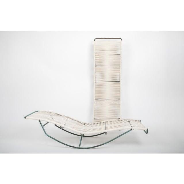 Brown Jordan Pair of Waikiki Rocking Lounge Chairs by Walter Lamb for Brown Jordan For Sale - Image 4 of 8