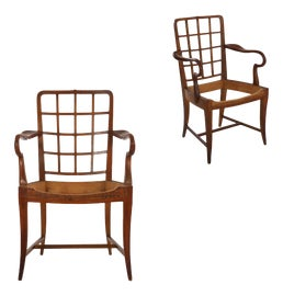 Image of Biedermeier Corner Chairs