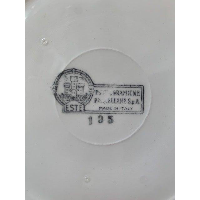 1970s Este Ceramiche Italy Trompe l'Oleil Plate For Sale In New York - Image 6 of 8