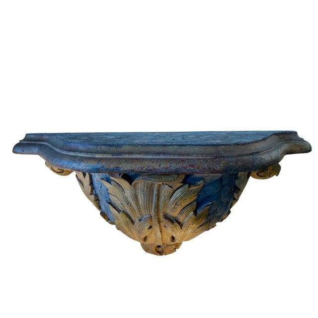 19th Century Italian 19th Century Wall Brackets - a Pair For Sale - Image 5 of 6
