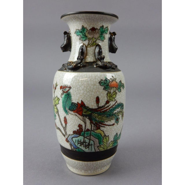 Asian Antique Chinese Celadon Vase For Sale - Image 3 of 11