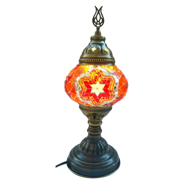 Mosaic Handmade Table Lamp - Image 1 of 5