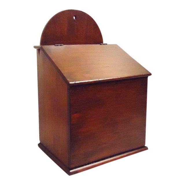 Fantastic Oversized 19th Century Walnut Wall Box For Sale