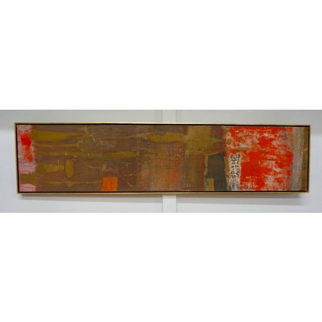 Abstract Painting by Gyorgy Kepes For Sale In Palm Springs - Image 6 of 9