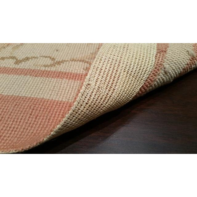 French Needlepoint Handmade Rug - 9x12 For Sale - Image 3 of 3